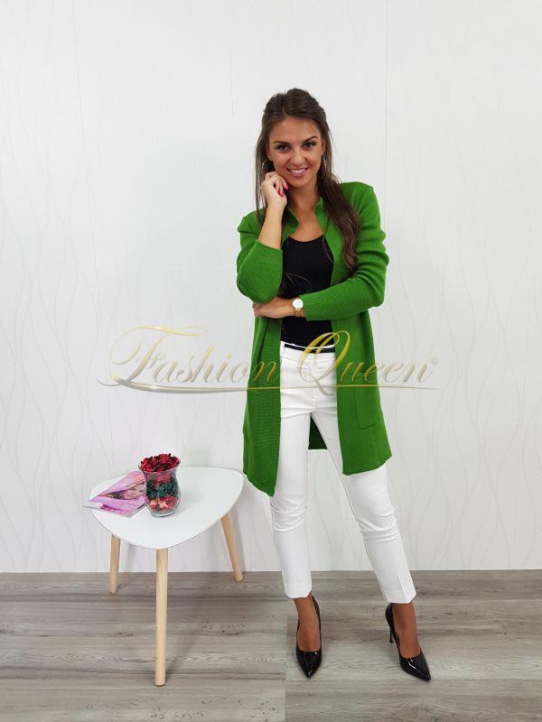 3bdf1d5afe15 Fashion Queen - Dámske oblečenie a móda - Zelený sveter