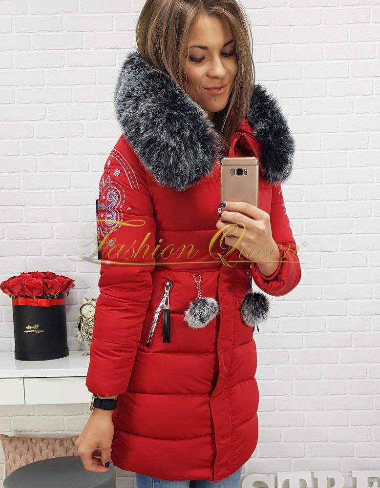 Fashion Queen - Dámske oblečenie a móda - Zimná vetrovka s kožušinou 9d8780a529b