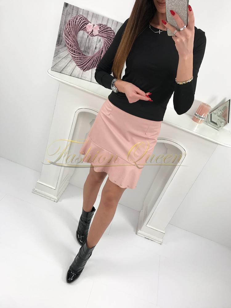 95bba7fe32f4 Fashion Queen - Dámske oblečenie a móda - Kožená sukňa