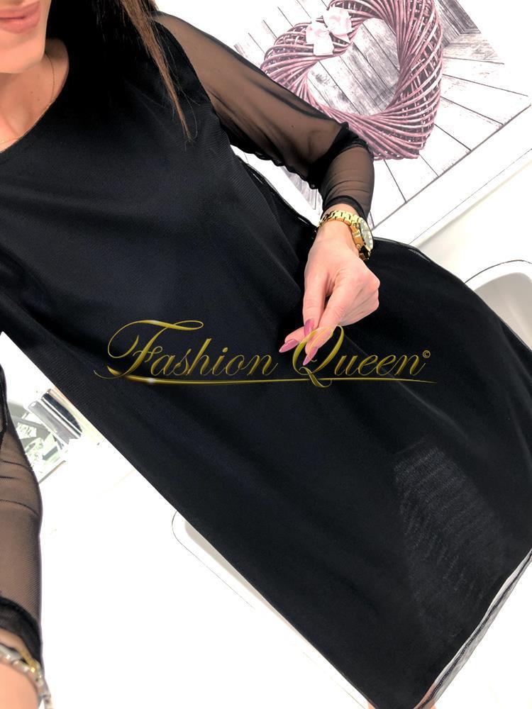 400cbc0f04f4 Fashion Queen - Dámske oblečenie a móda - Čierne šaty