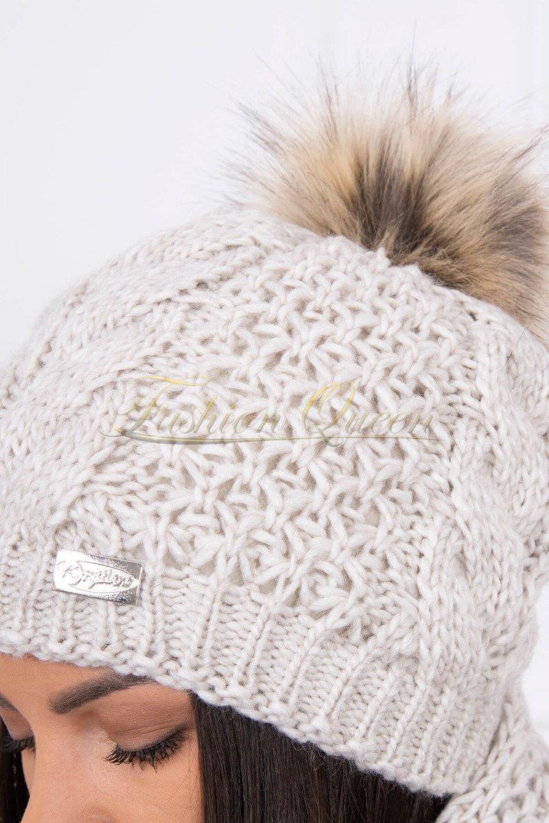 dd69fde5e Fashion Queen - Dámske oblečenie a móda - Komplet čiapka + šál
