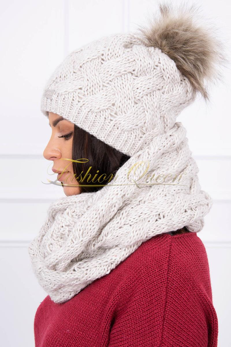 29bc0ecdd Fashion Queen - Dámske oblečenie a móda - Sada čiapka + šál