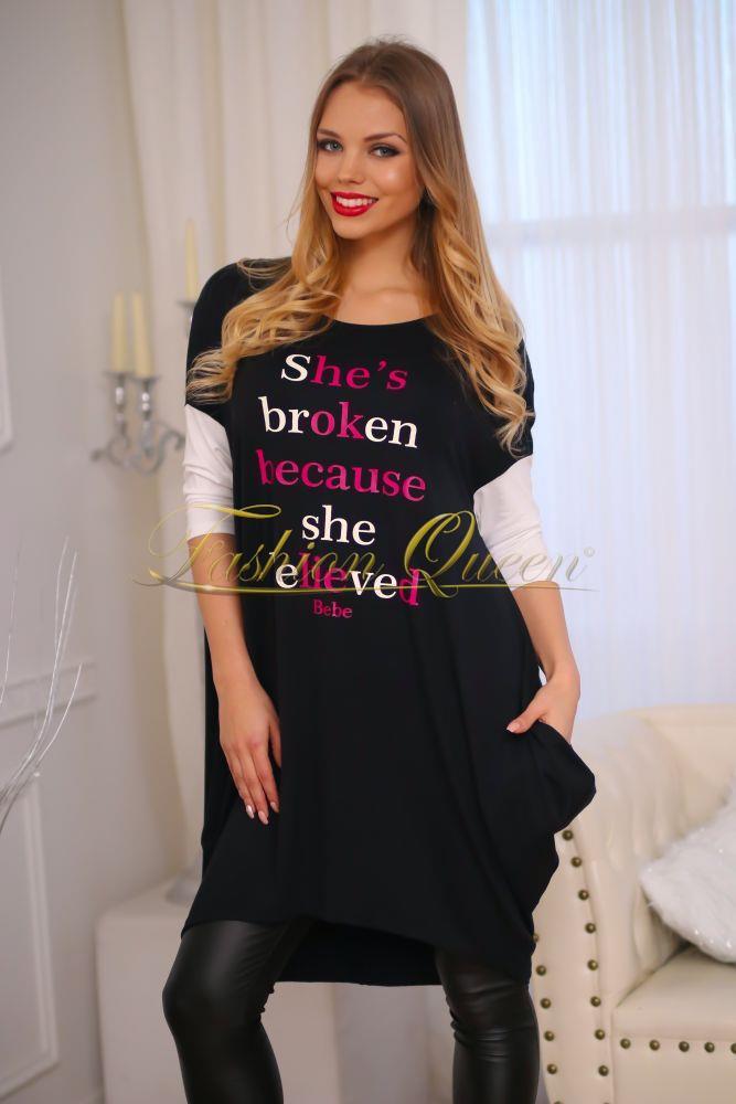 Fashion Queen - Dámske oblečenie a móda - Oversize šaty 843aa812e9b