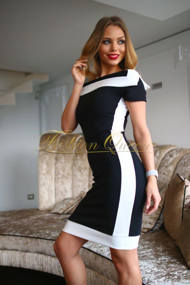 b18d1cab9fe8 Fashion Queen - Dámske oblečenie a móda - Elegantné šaty s pásom