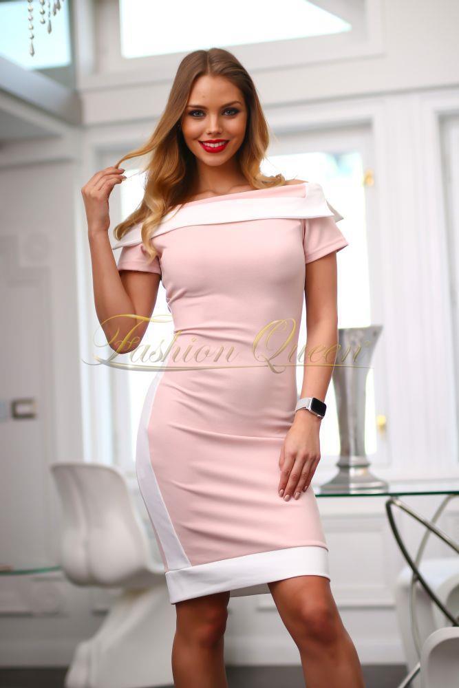 ae070f144d0d Fashion Queen - Dámske oblečenie a móda - Elegantné šaty s pásom