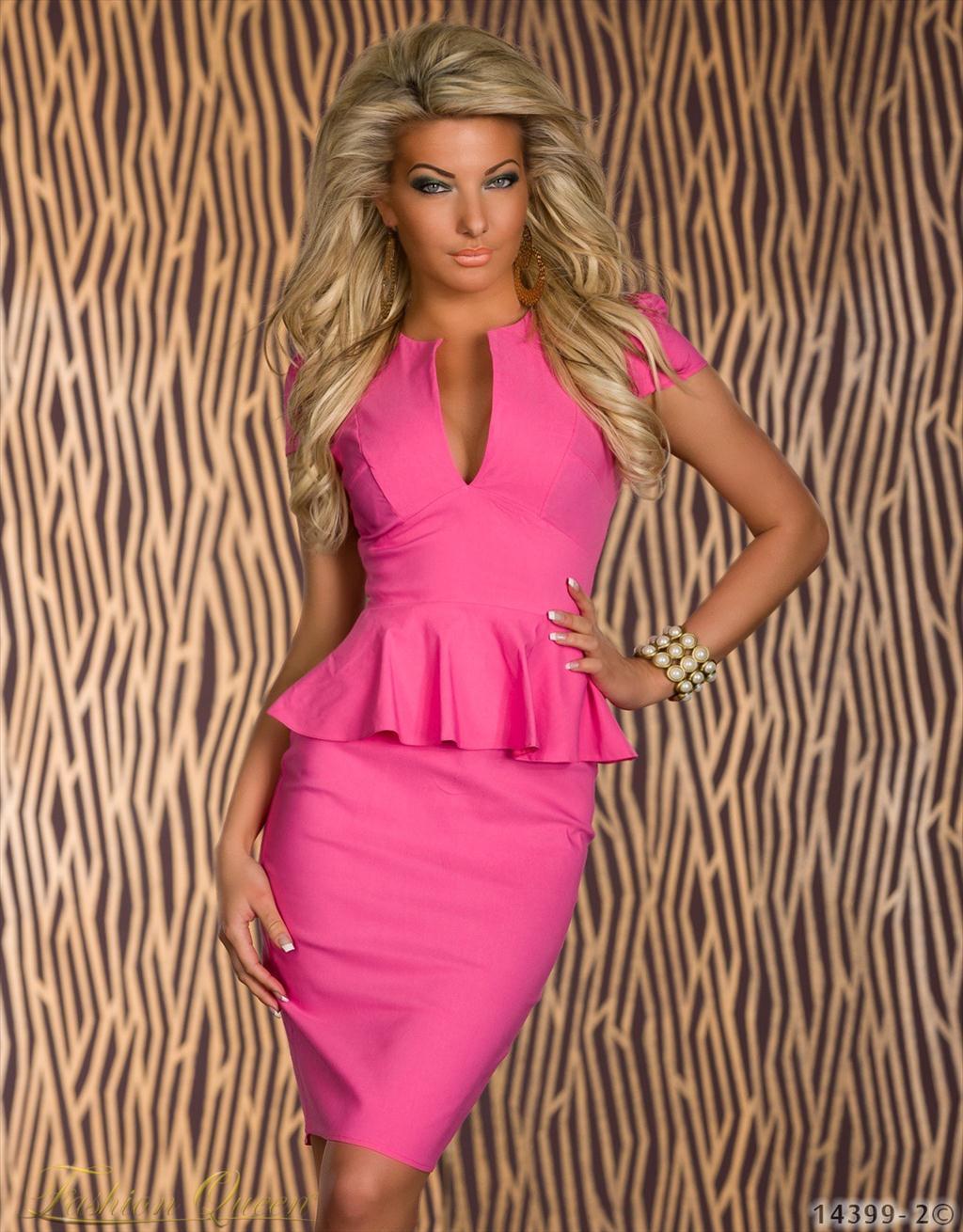 e046dab4563e Fashion Queen - Dámske oblečenie a móda - Šaty s krátkym rukávom