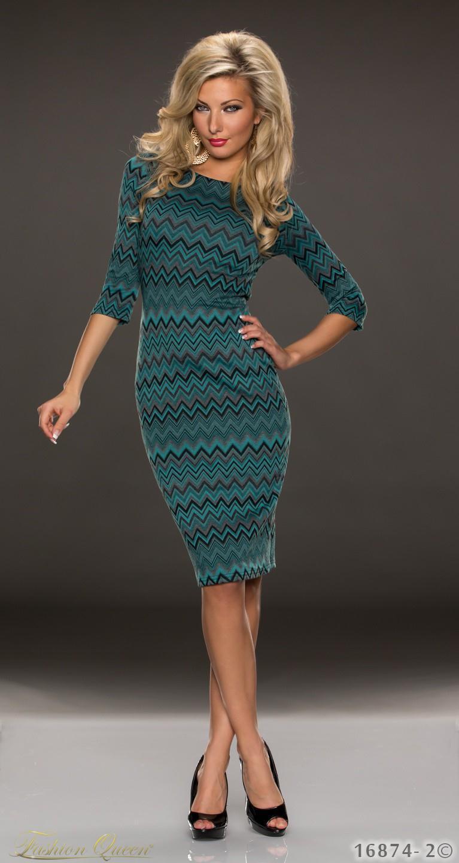 d795a6710ee5 Fashion Queen - Dámske oblečenie a móda - Šaty s trištvrťovým rukávom