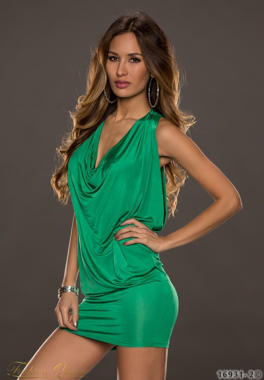 46cc23c07f27 Fashion Queen - Dámske oblečenie a móda - Minišaty zelené